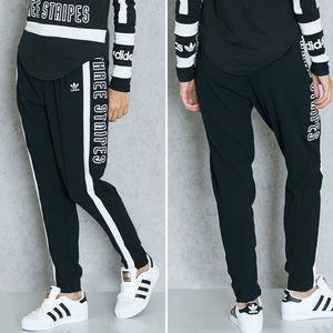 Adidas Three Stripes Athleisure Poly Pants Zip